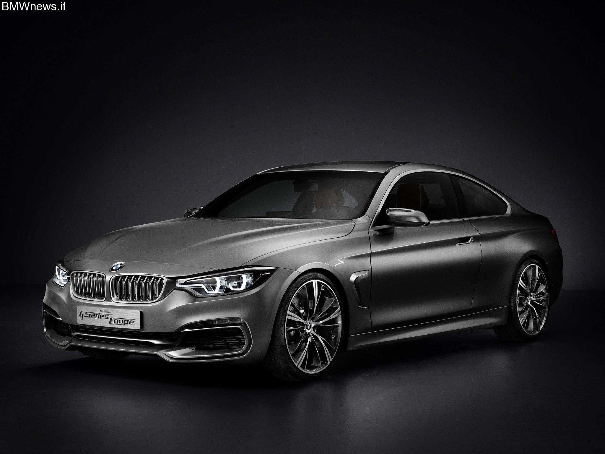 Ufficiale: BMW Serie 4 Coupè Concept