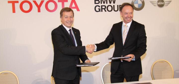BMW Toyota accordo diesel e ibrido