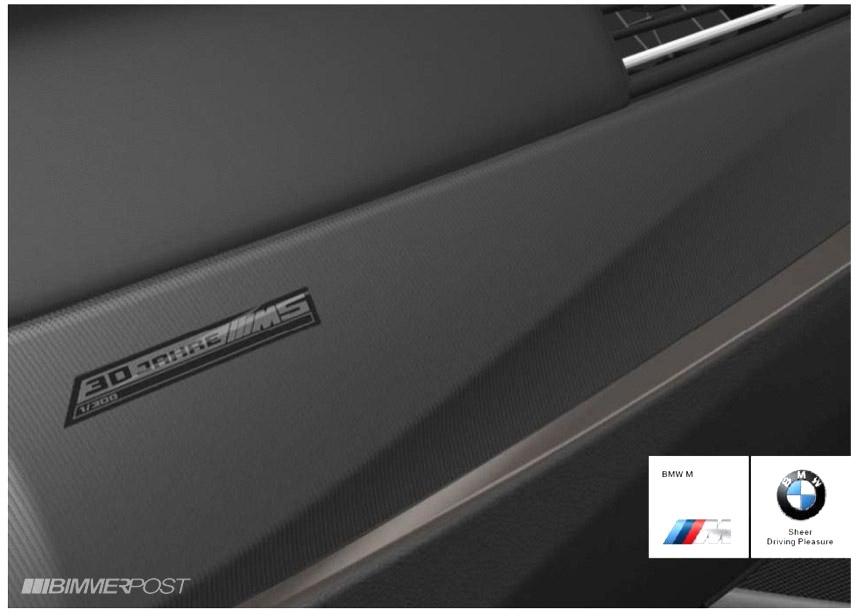 BMW M5 F10 30th Anniversary Edition