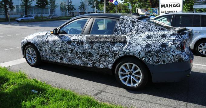 BMW Serie 3 GT foto spia