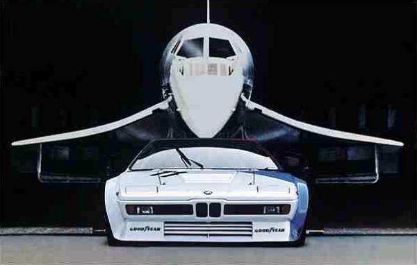 BMW M1 1972
