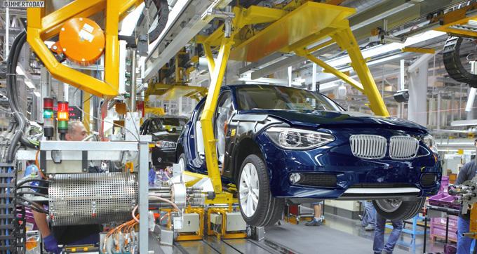 BMW Serie 1 F20 produzione Regensburg