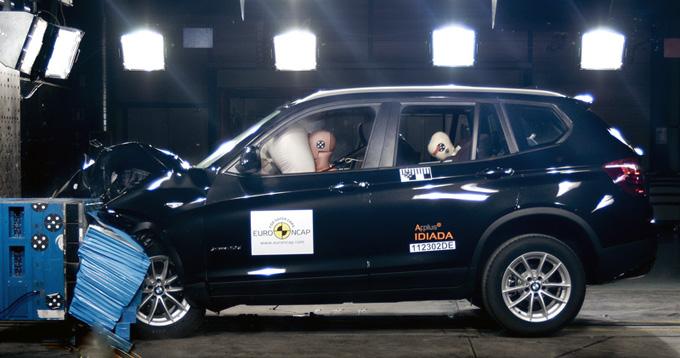 BMW X3 Euro NCAP