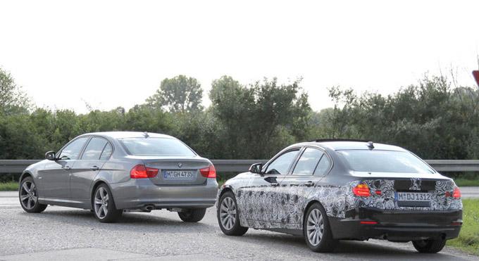 BMW Serie 3 E90 vs F30