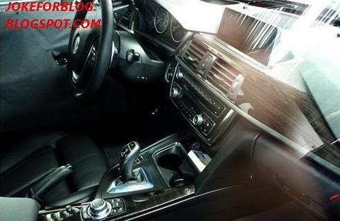 BMW Serie 3 F30 Interiors 2012