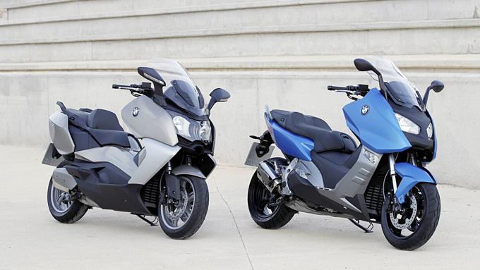 Ecco Gli Scooteroni Bmw C600 Sport E C650 Gt Bmwnews