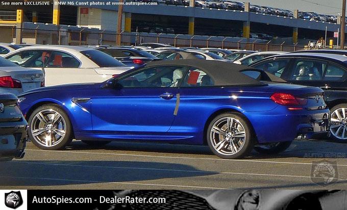2012 BMW M6 Cabrio