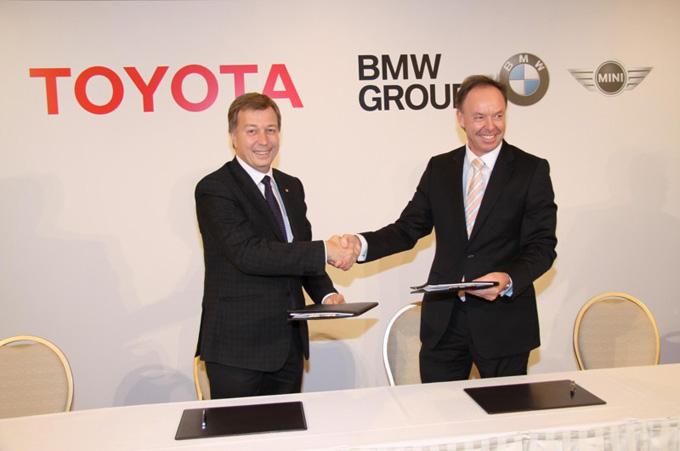 BMW e Toyota accordo diesel e ibrido