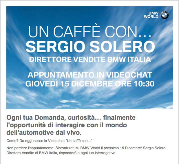 Linea diretta con BMW Italia: di la tua!