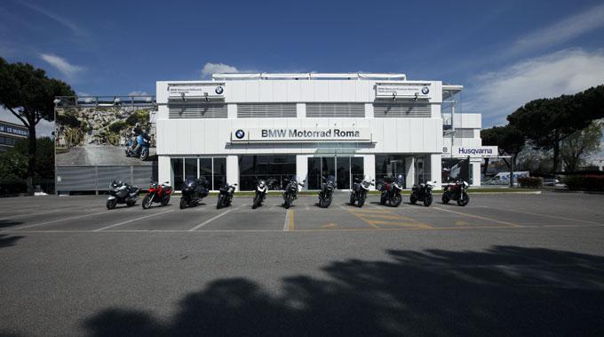 BMW Motorrad Roma innaugurazion