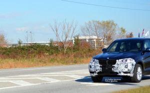 BMW X3 restyling 2013