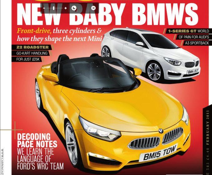 BMW roadster trazione anteriore