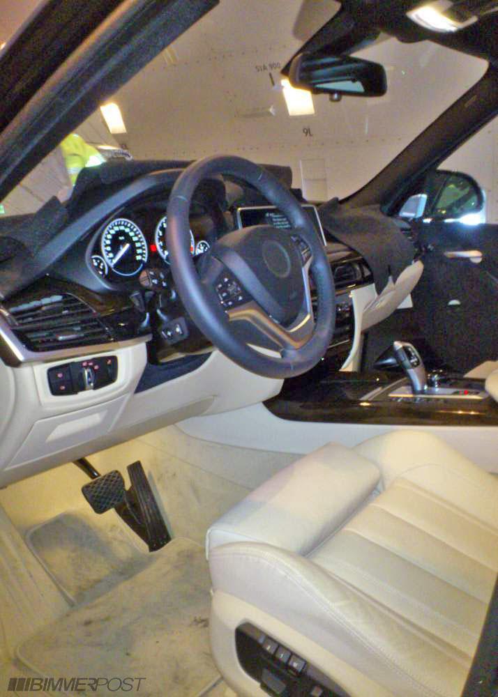 BMW X5 interni