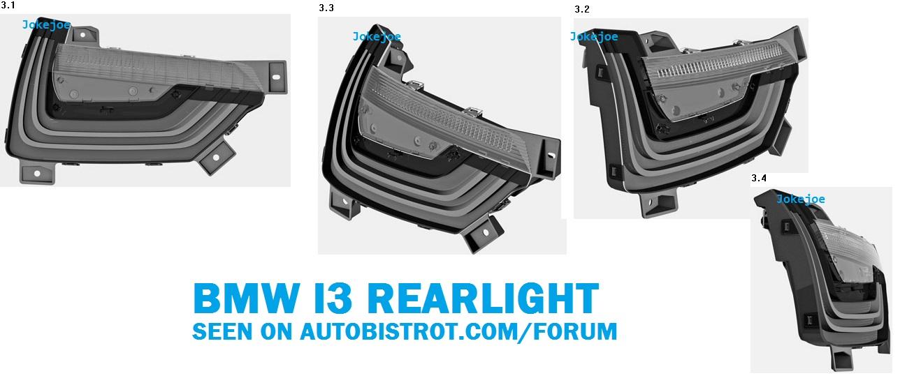 BMW i3 Taillights