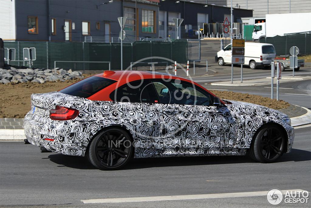 BMW M2 F87 (1) Spy