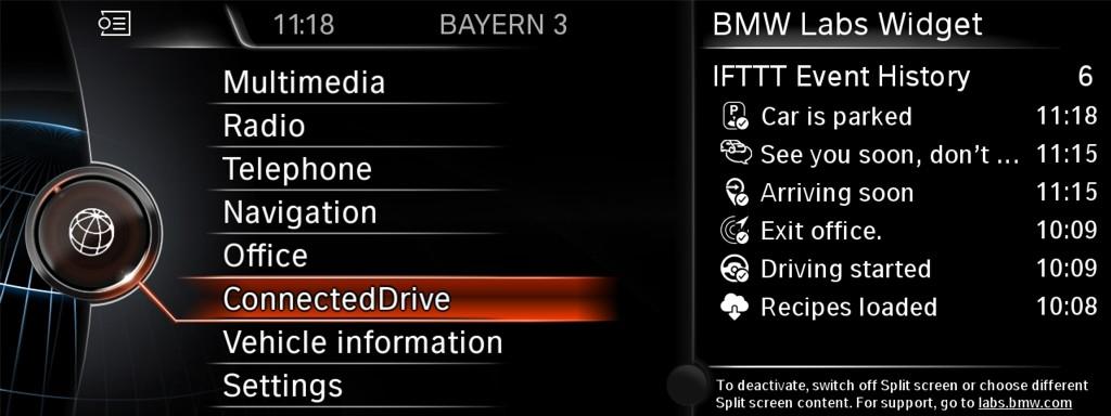 BMW Labs ConnectedDrive