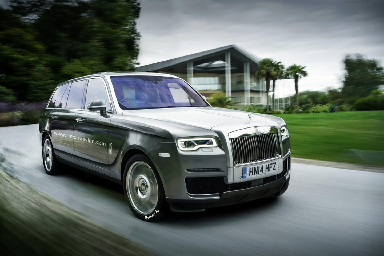 Rolls Royce Cullinan Largo Al Suv Bmwnews