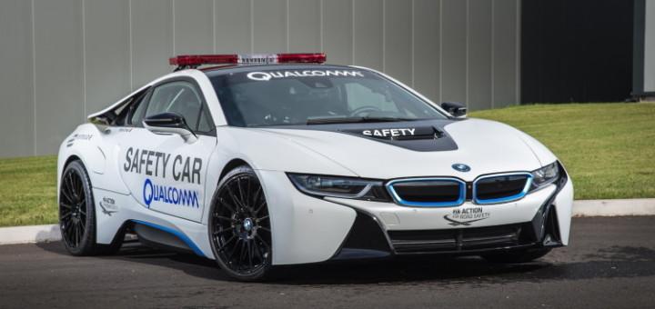 BMW i8 SafetyCar Formula E