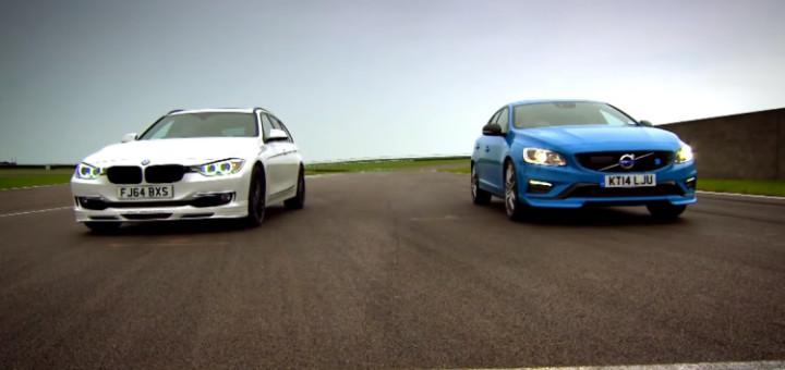 Alpina D3 BiTurbo Touring vs Volvo V60 T6 Polestar