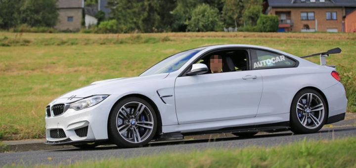 BMW M4 GT4 Spy
