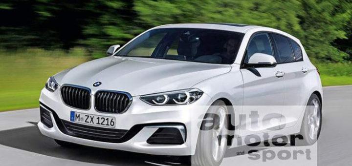 BMW SERIE 1 F40 Render