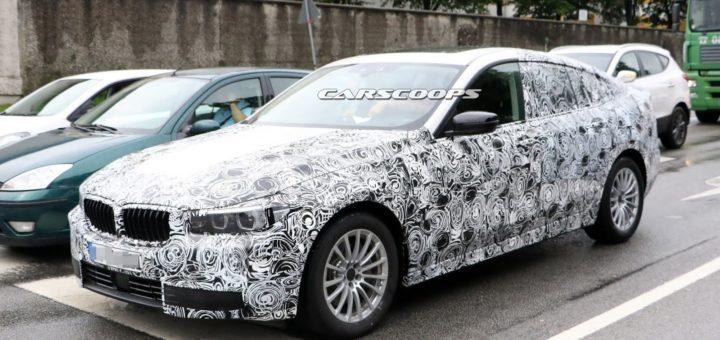 BMW Serie 5 GranTurismo G32 - Spy