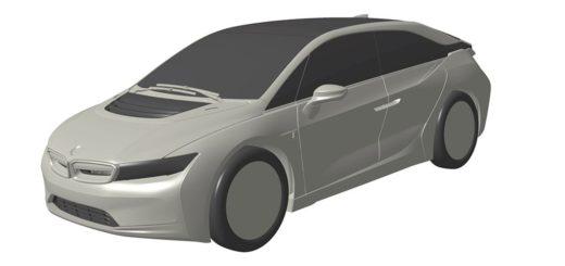 BMW i5 Patent - BMW i6