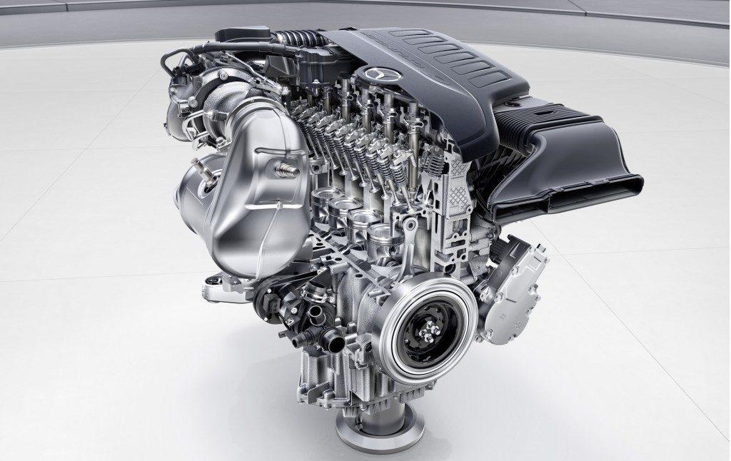 Mercedes Benz AMG M256 - OM654