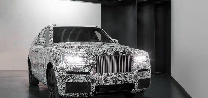 Rolls Royce Cullinan - Rolls-Royce Cullinan