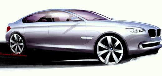 Karim Habib - BMW Serie 7 F01 Sketch