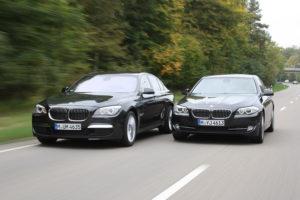 BMW Serie 5 F10 - BMW Serie 7 F01