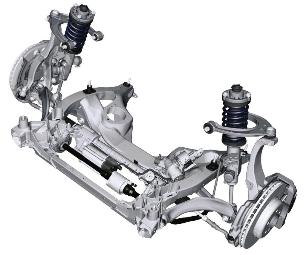 BMW Serie 5 F10 - Sospensione anteriore a quadrilatero alto