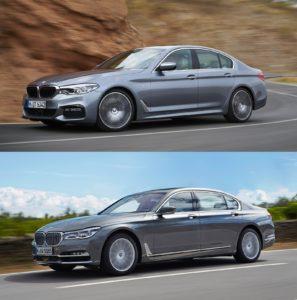 BMW Serie 5 G30 - BMW Serie 7 G11