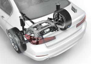BMW Serie 5 G30 - Sospensione posteriore multilink 5 bracci
