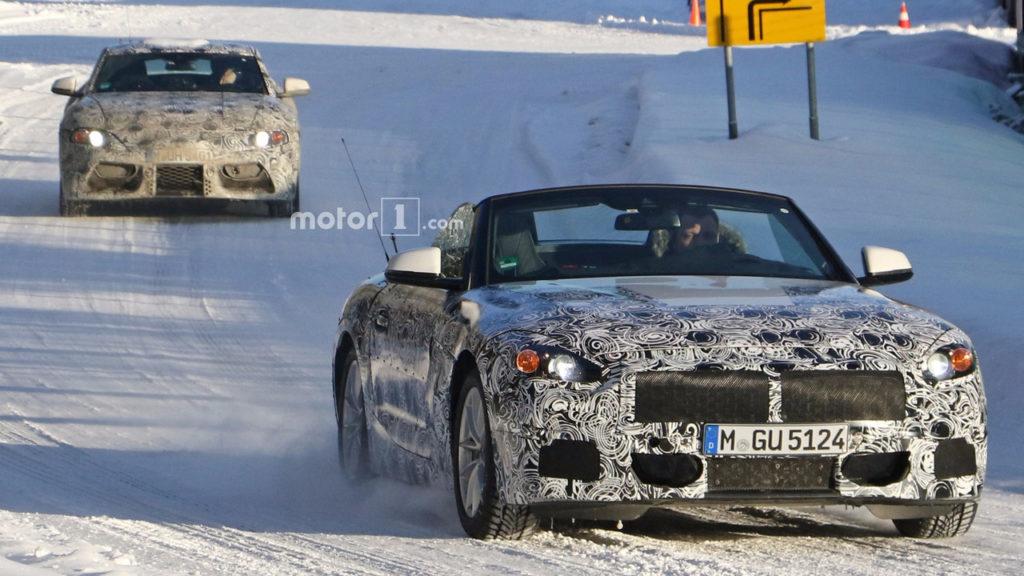 BMW Z5 Roadster G29 Spy