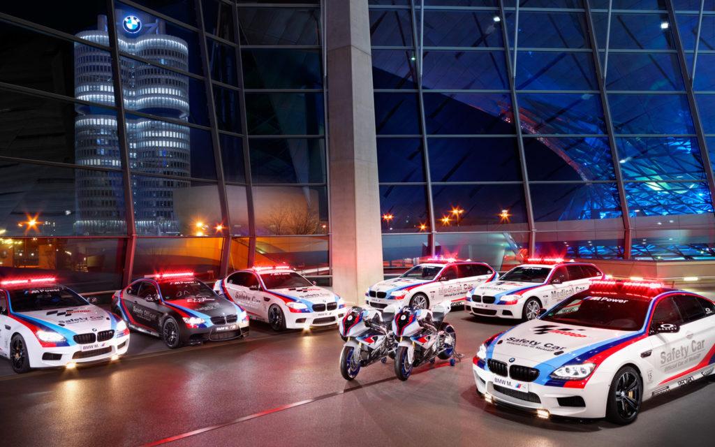 BMW M Moto GP Lineup 2013