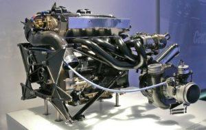 BMW M10 - BMW M12-13 Engine Formula 1 - Brabham BMW BT52 Engine