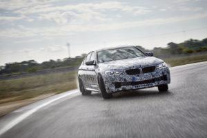BMW M5 xDrive F90 Official Spy