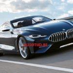 BMW Serie 8 Concept 2017 Leaked - Villa d'Este