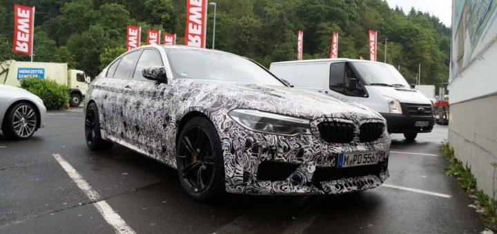 BMW M5 xDrive F90 Spy 2018