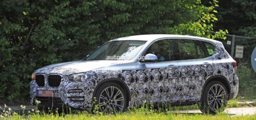 BMW X3 G01 2018 Spy