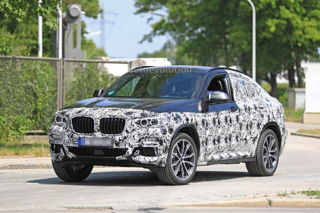 BMW X4 M40i Spy G02 2018
