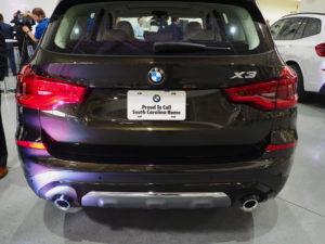 BMW X3 G01 - Spartanburg Plant