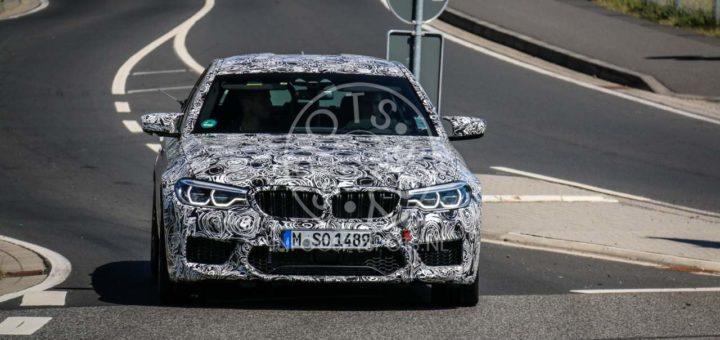 BMW M5 F90 Spy