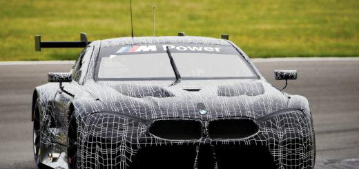 BMW M8 GTE Spy