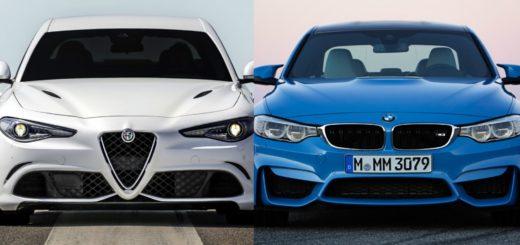 Alfa Romeo Giulia Quadrifoglio vs BMW M3 Sedan