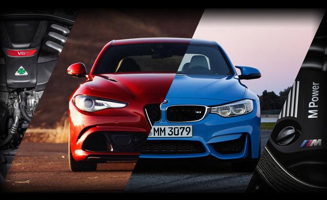 BMW M3 Competition Package - Alfa Romeo Giulia Quadrifoglio