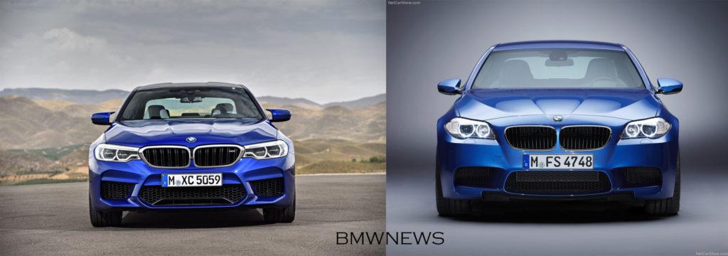 BMW M5 F90 vs BMW M5 F10