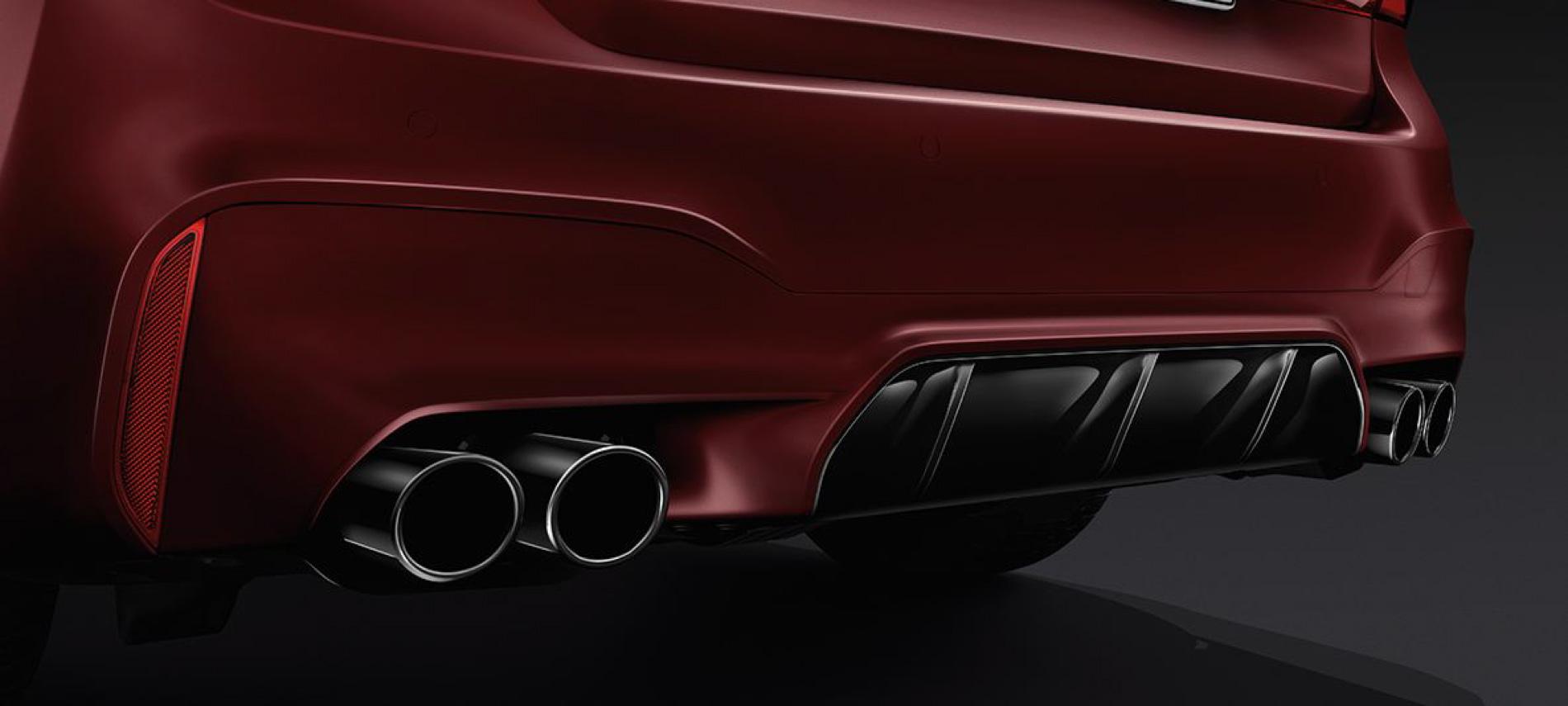 Bmw M5 M Sport Exhaust Bmwnews