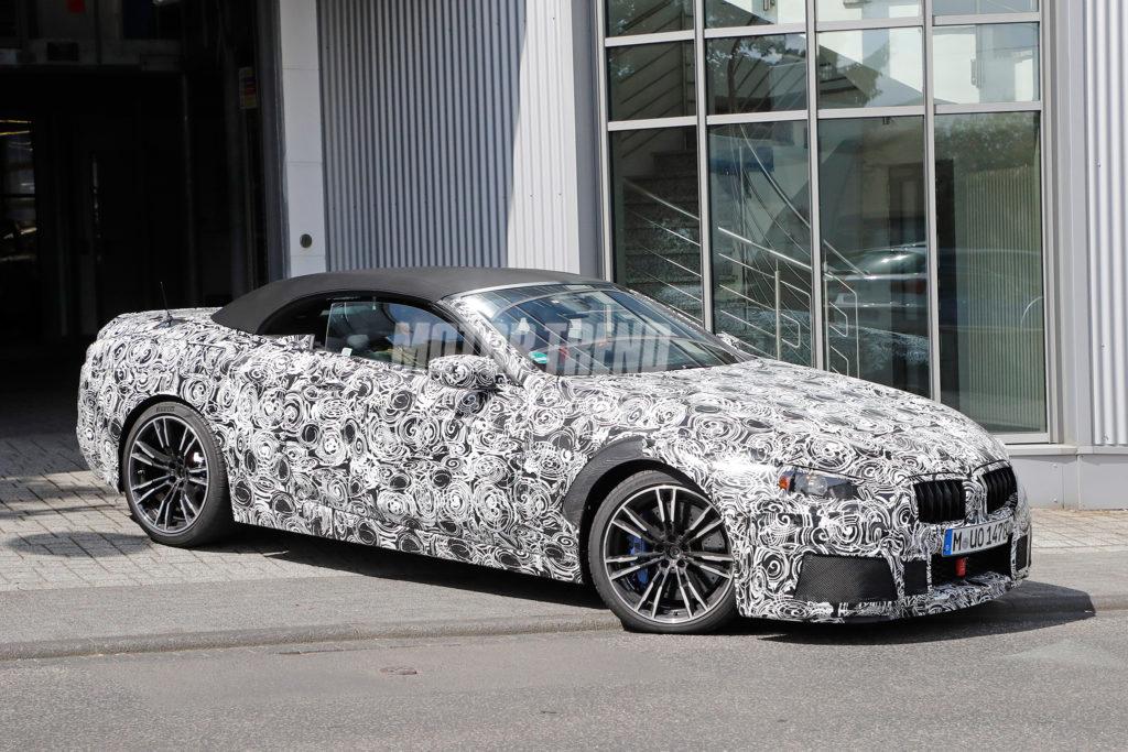BMW M8 Cabrio G15 Spy